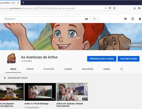 As Aventuras de Arthur agora também tem seu canal no youtube!